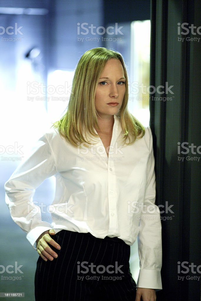Confidant Businesswoman royalty-free stock photo