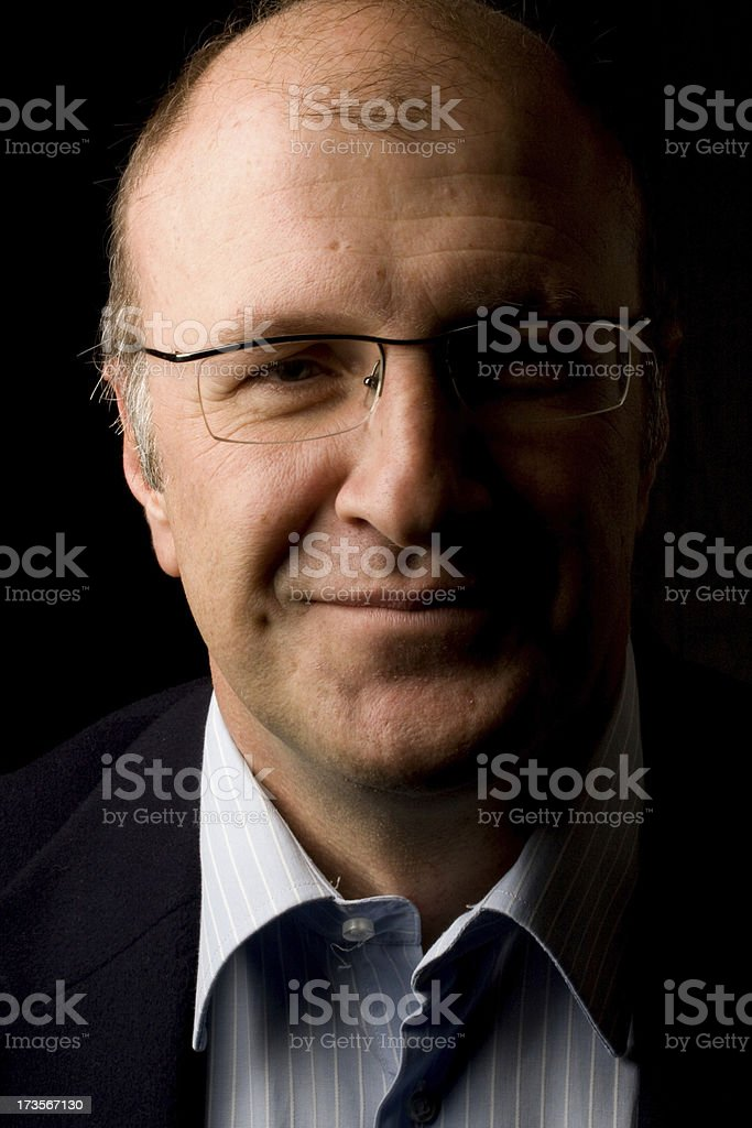 Confiden senior businessman royalty-free stock photo