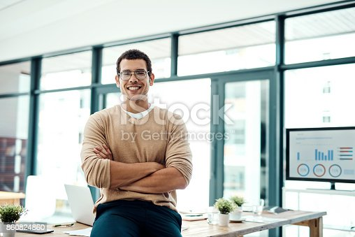 1040964880 istock photo Confidence and determination has been the key to my success 860824860