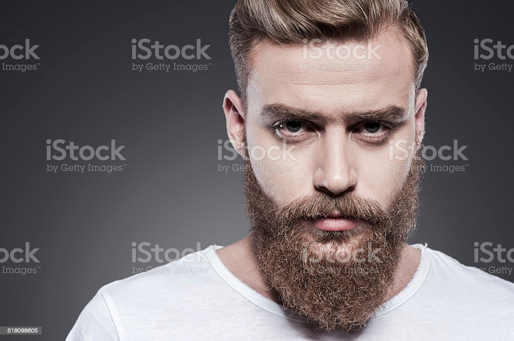 Confidence and masculinity. stock photo