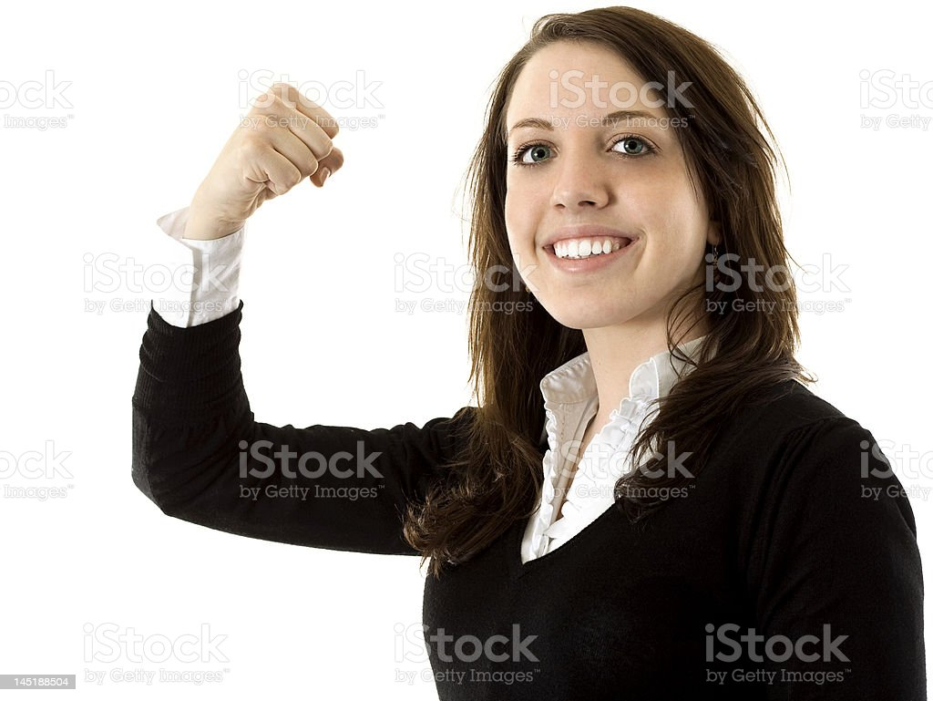 Confidence and Strength royalty-free stock photo