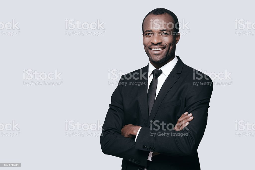 Confidence and style. stock photo