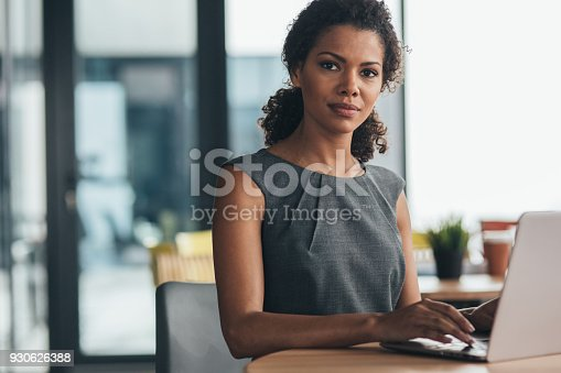 istock Confidence and success in business 930626388
