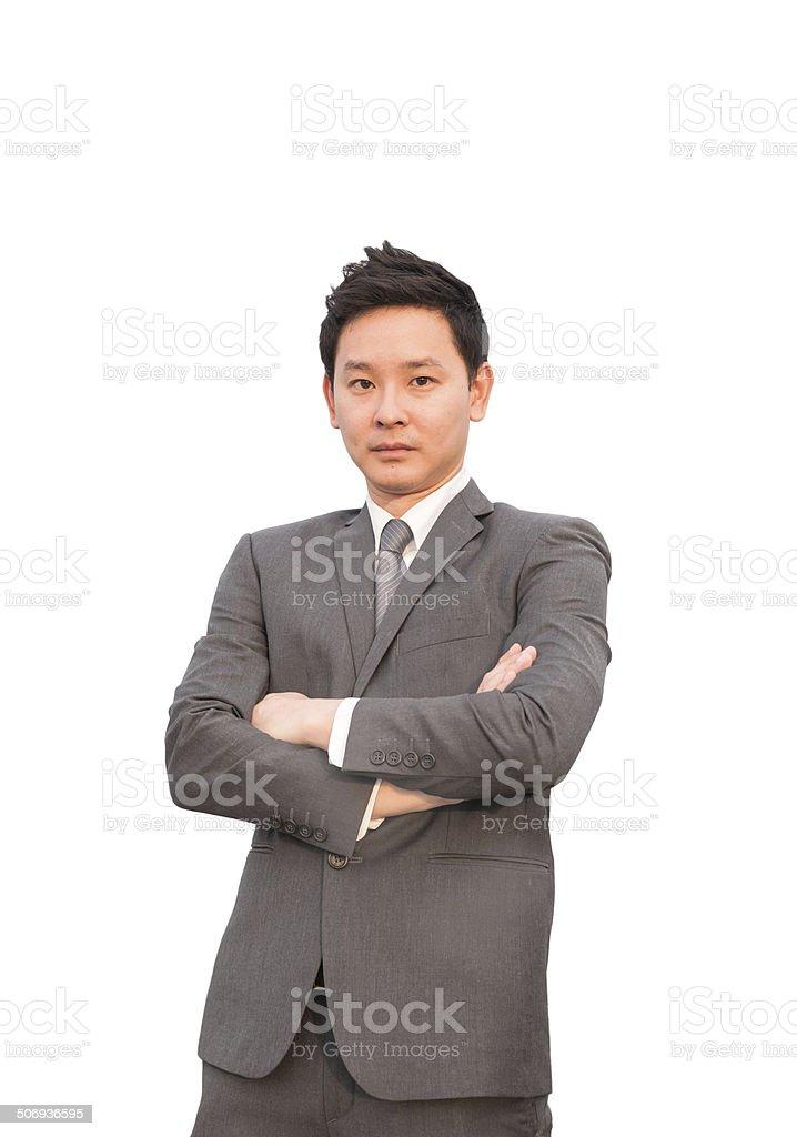 Selbstbewusst Geschäftsmann – Foto