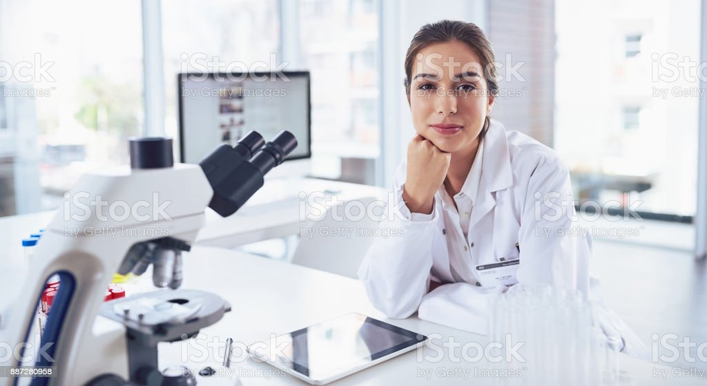 Confidence comes with hard work stock photo