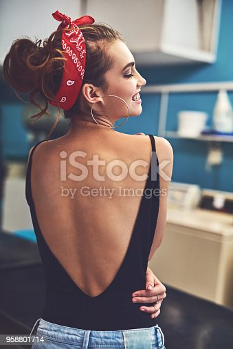 istock Confidence follows her wherever she goes 958801714