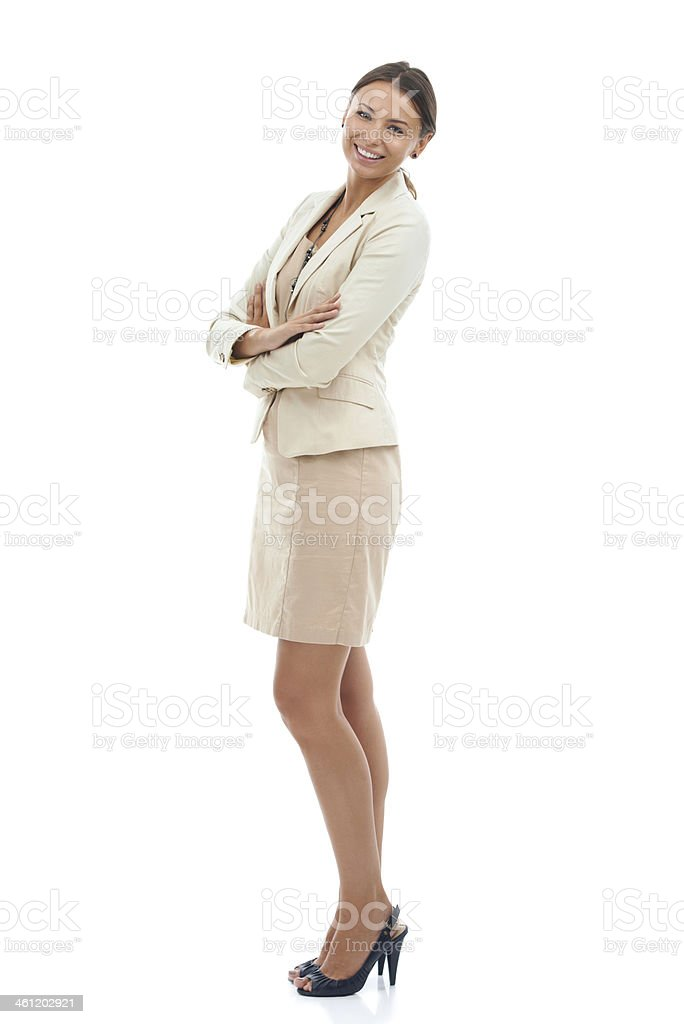 Confidence in the workplace royalty-free stock photo