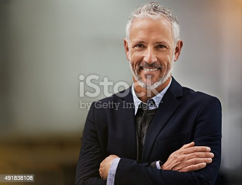 istock Confidence is a must for corporate success 491838108