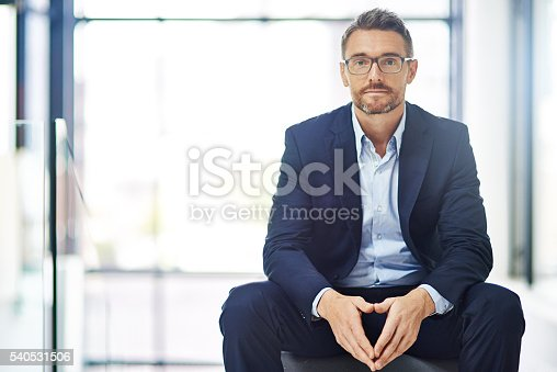 istock Confidence is key to conveying a successful business image 540531506