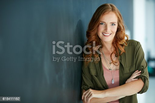 istock Confidence is my favourite accessory 615411152