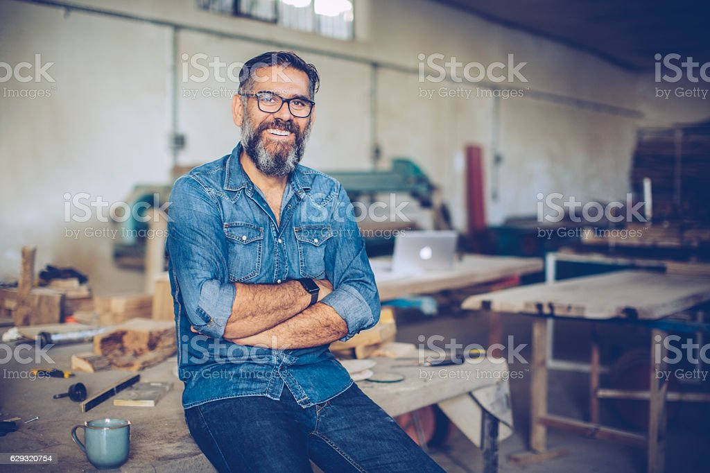 Confidence is the key to success. stock photo