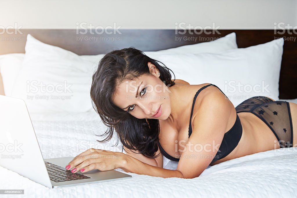 Confidence is the sexiest thing a woman can wear stock photo