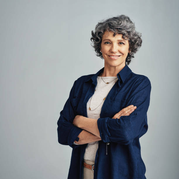 Confidence isn't defined by my age stock photo