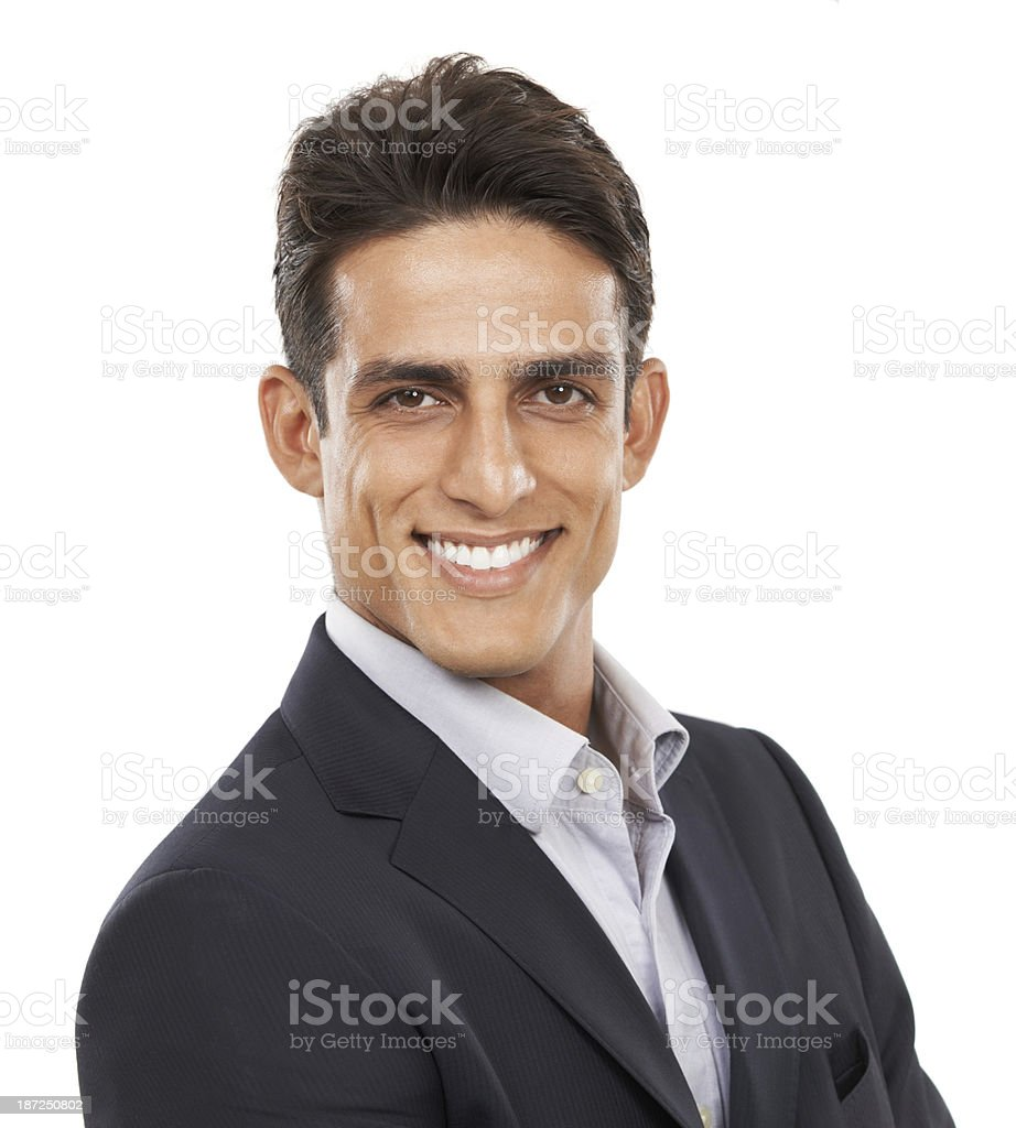Confidence personified royalty-free stock photo