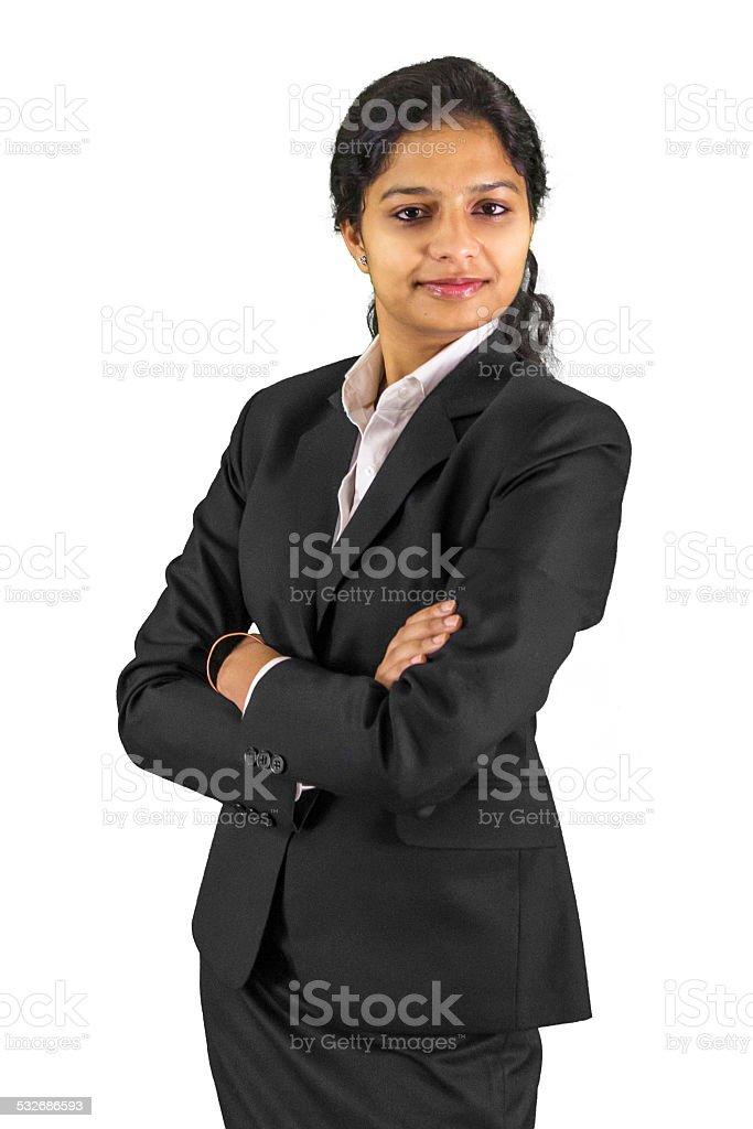 Confidence! stock photo