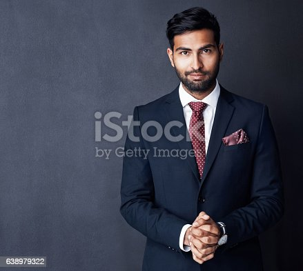 istock Confidence that supports success 638979322