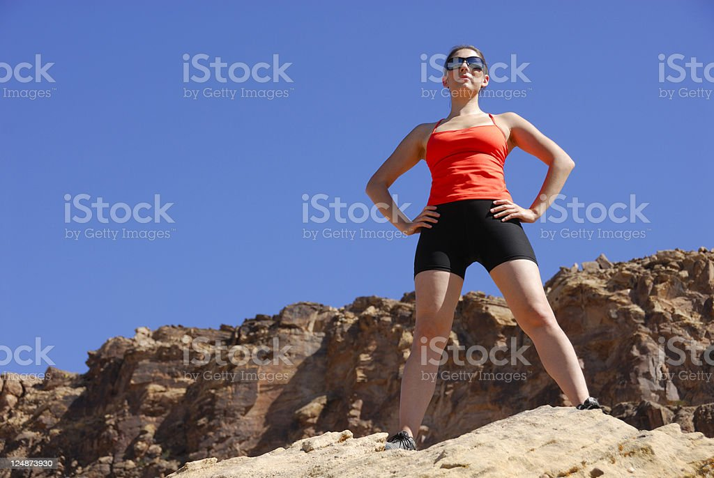 Confidence - The Key To Success royalty-free stock photo
