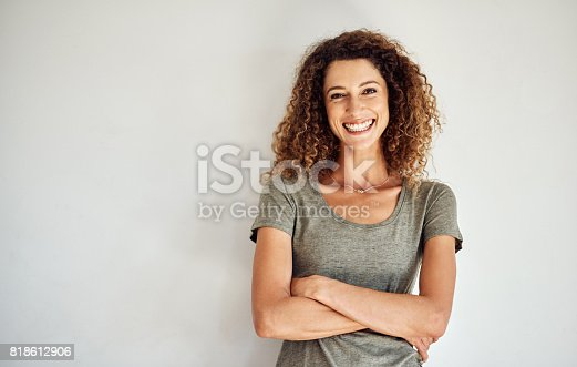 istock Confidence - the ultimate beautifier 818612906