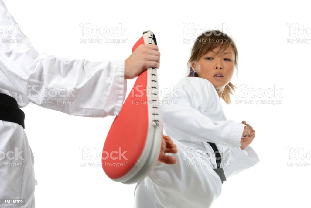 Confidence Through Sport stock photo