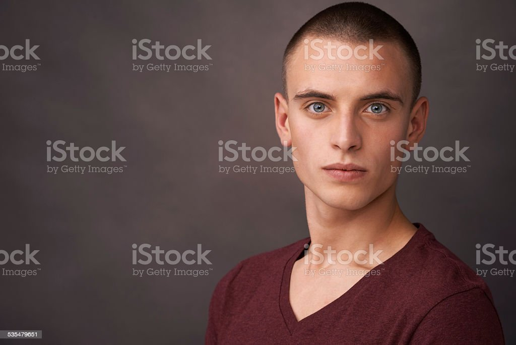 Confidence unlocks every opportunity in life stock photo