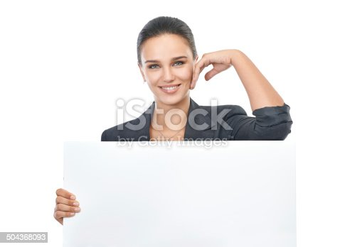 istock Confident about your copy! 504368093