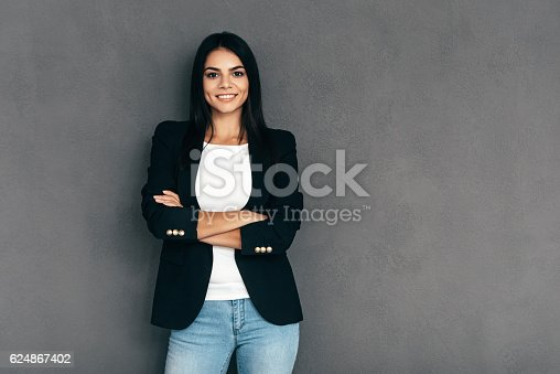 istock Confident and beautiful. 624867402