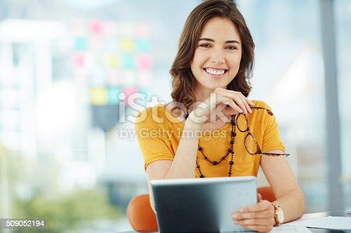 istock Confident and creative 509052194