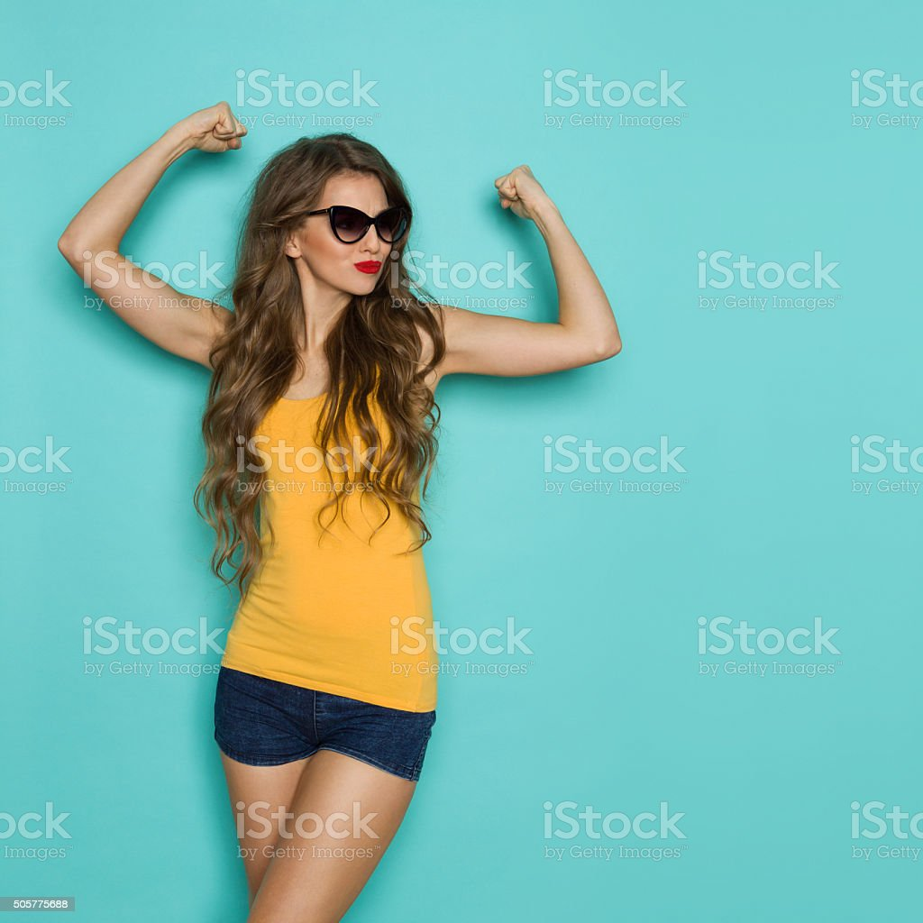 Confident And Strong stock photo