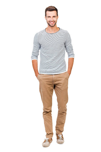confident and stylish. - one young man only stock photos and pictures
