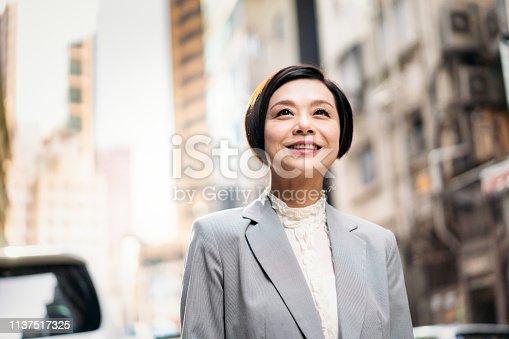 istock Confident Asian businesswoman 1137517325