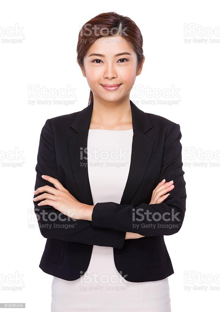 Confident asian businesswoman圖像檔