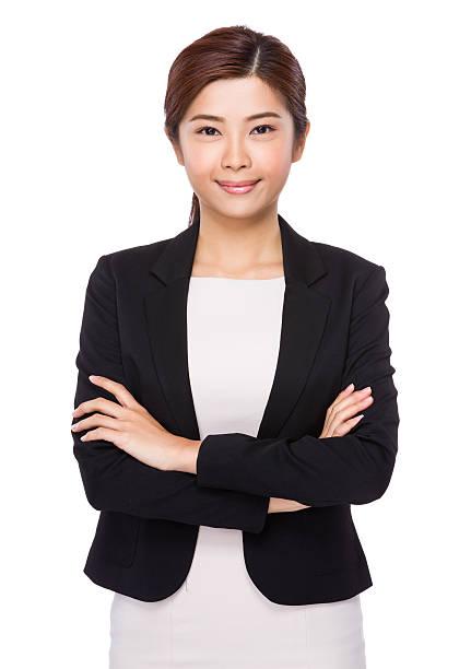 confident asian businesswoman - men blazer stockfoto's en -beelden