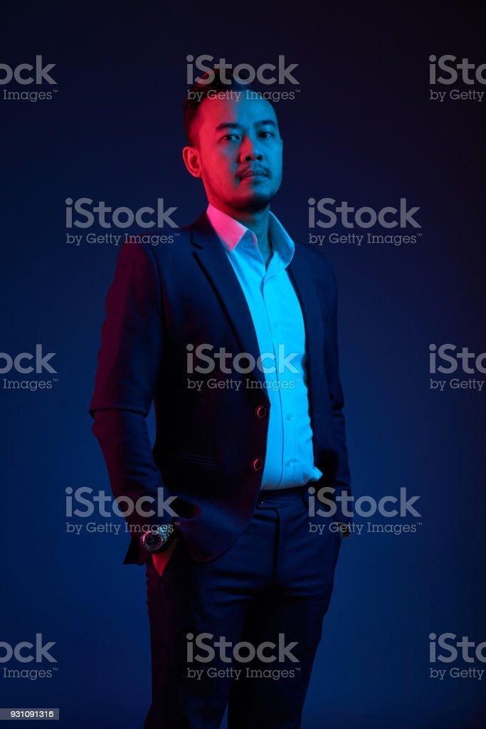 Zuversichtlich asiatischen Mann – Foto