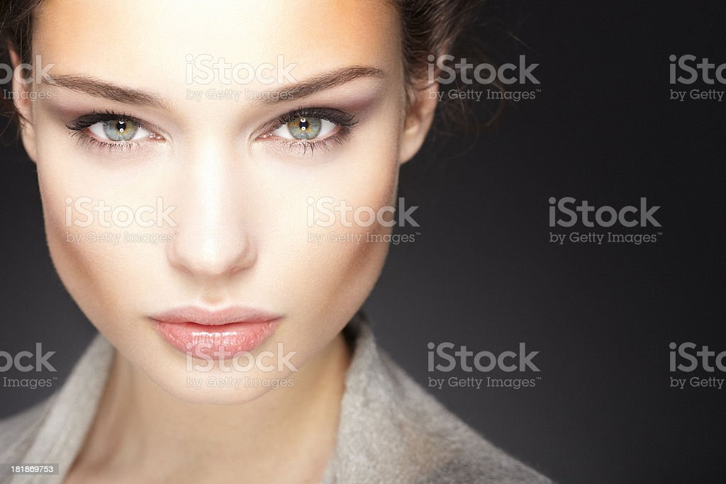 Confident beauty stock photo