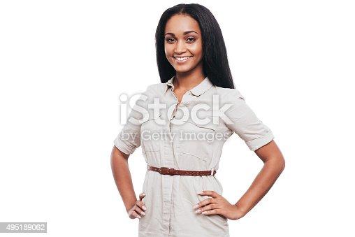 istock Confident beauty. 495189062