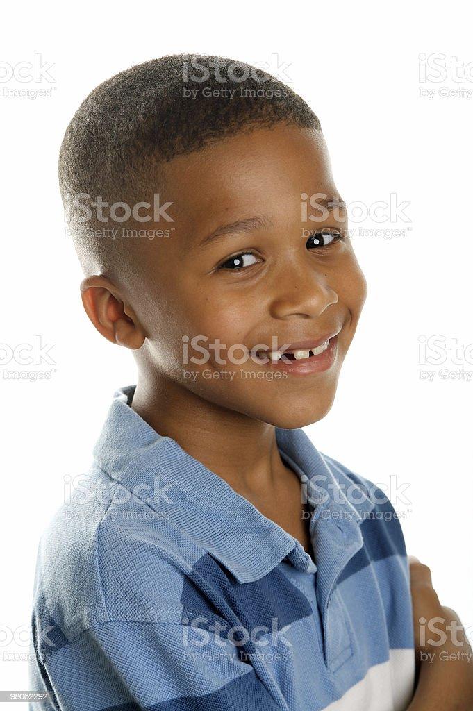 Confident Boy royalty-free stock photo
