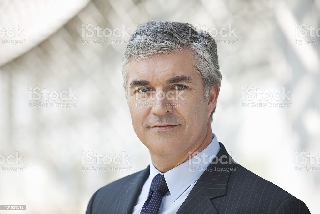Confident Business Executive royalty-free stock photo
