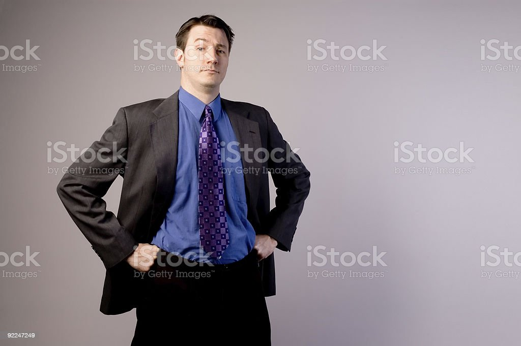 Confident Business Man 2 stock photo