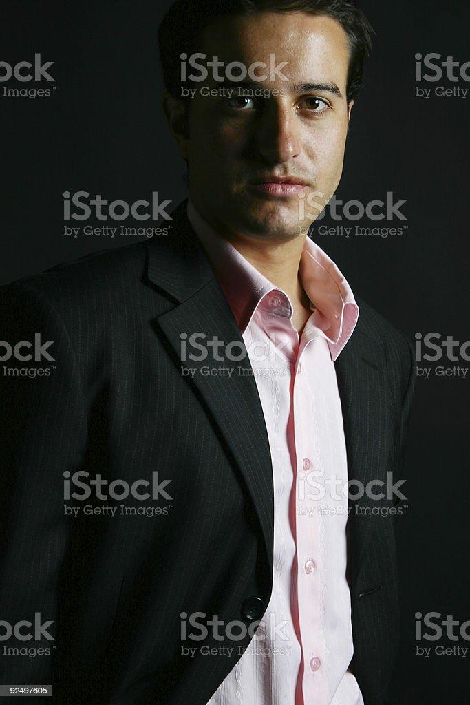 Zuversichtlich business Mann Lizenzfreies stock-foto