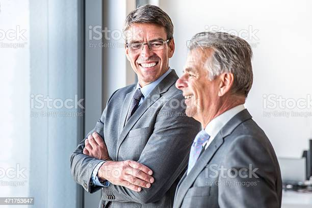 Confident Business Partners Stock Photo - Download Image Now