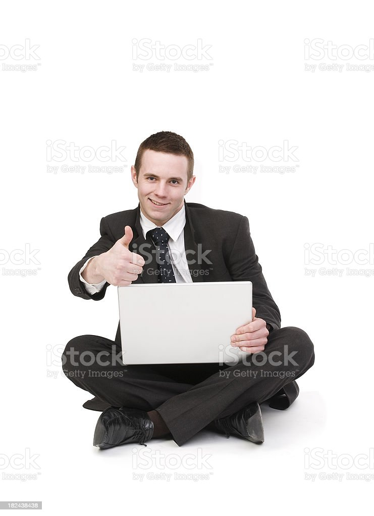 Confident Business Person royalty-free stock photo