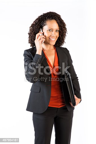 istock Confident Business Woman of mixed race 497954161