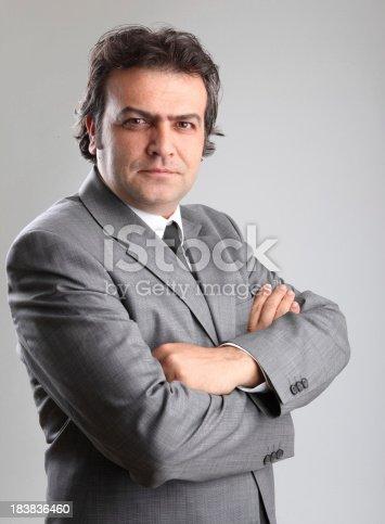 179607668 istock photo Confident Businessman 183836460
