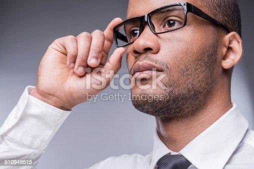 istock Confident businessman. 510949515