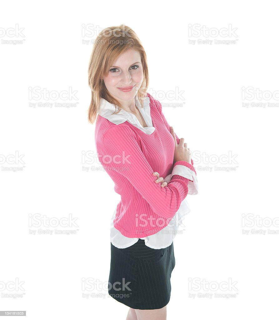Confident Businesswoman stock photo