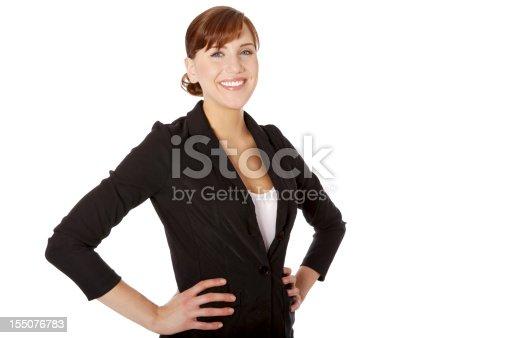 istock Confident Businesswoman 155076783