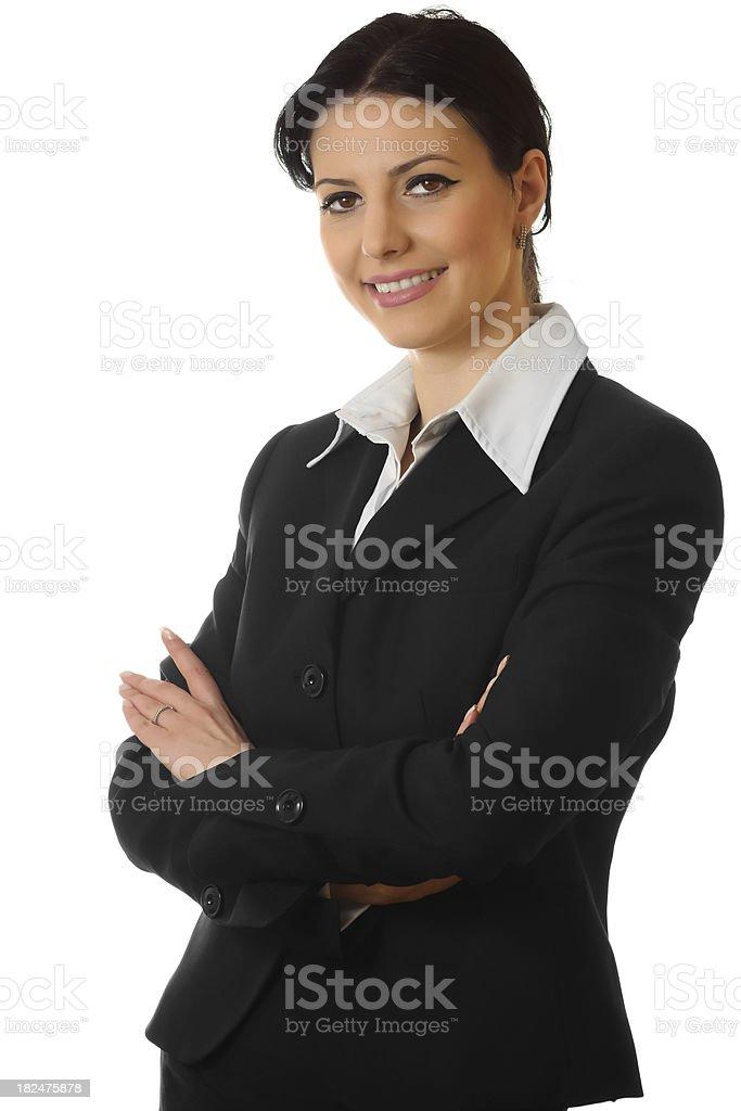 Confident businesswoman royalty-free stock photo