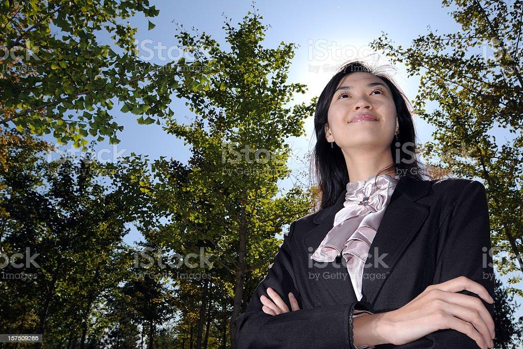 Confident Businesswoman - XLarge royalty-free stock photo