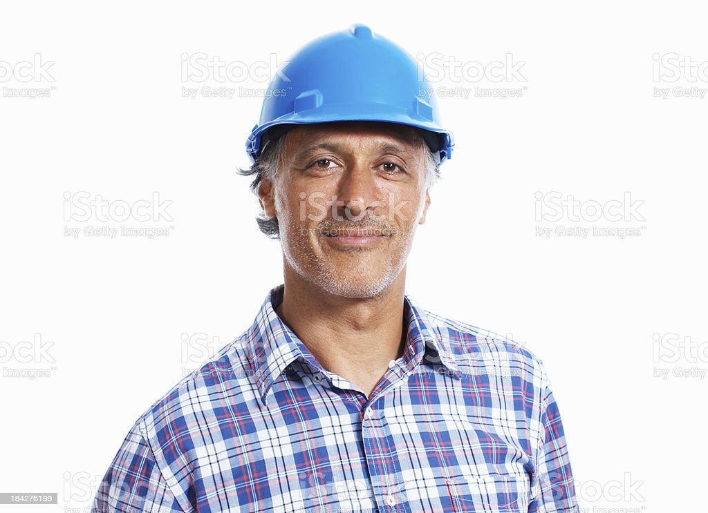 Zuversichtlich Bauarbeiter – Foto