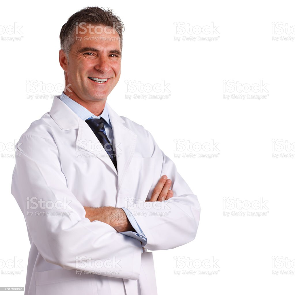 Confident Doctor royalty-free stock photo